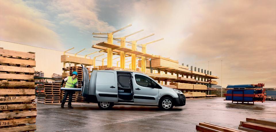 Peugeot Partner Van resimleri