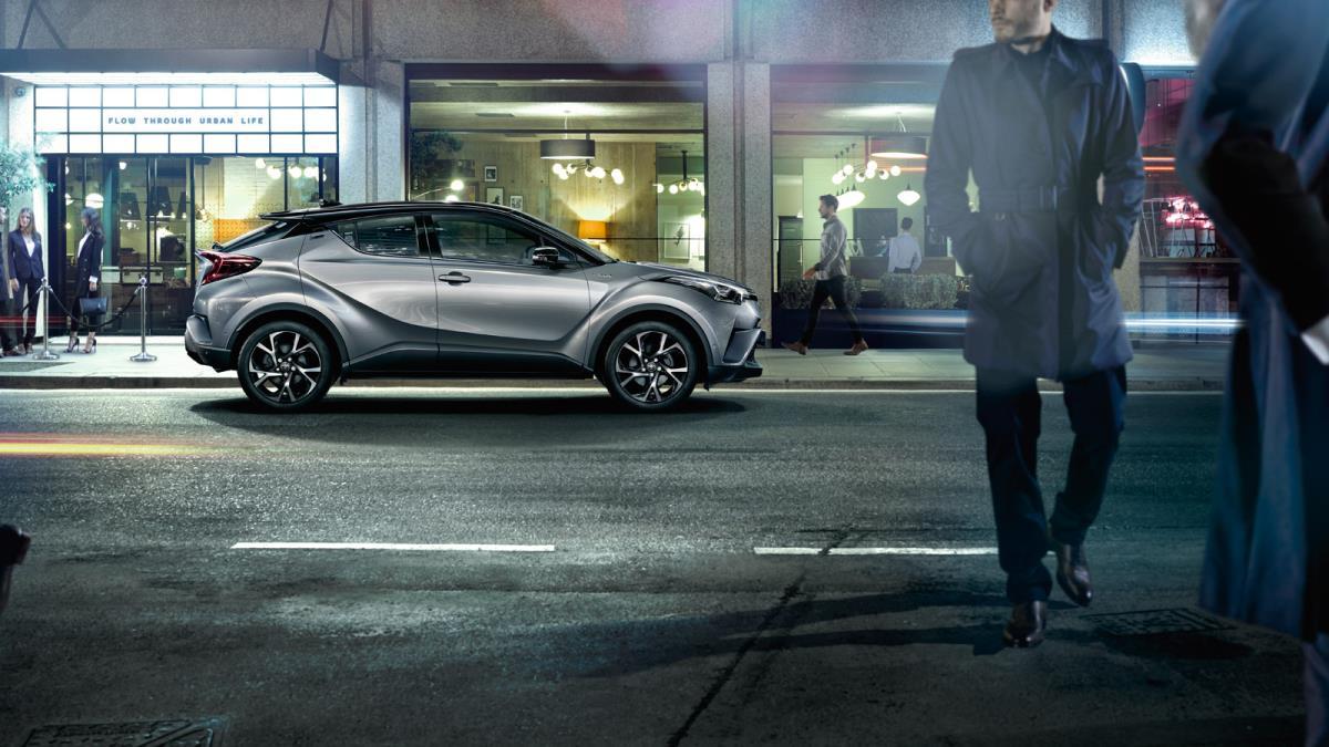 Toyota C-HR resimleri