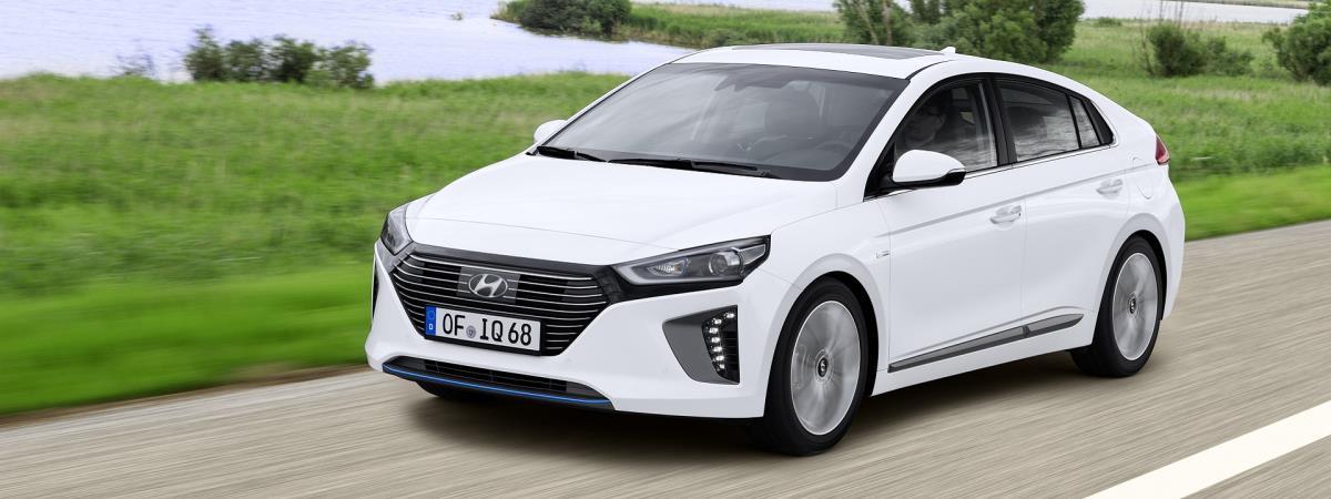 Hyundai IONIQ Hybrid resimleri