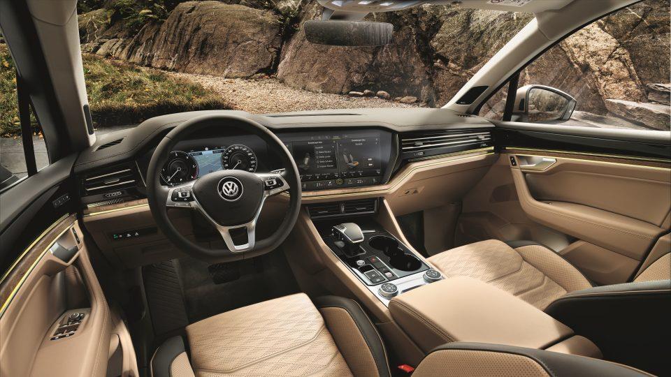 Volkswagen Touareg resimleri