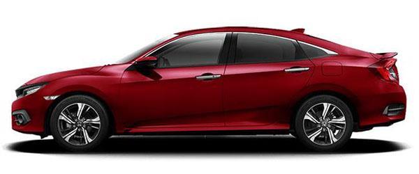 Honda Civic Sedan Bordo