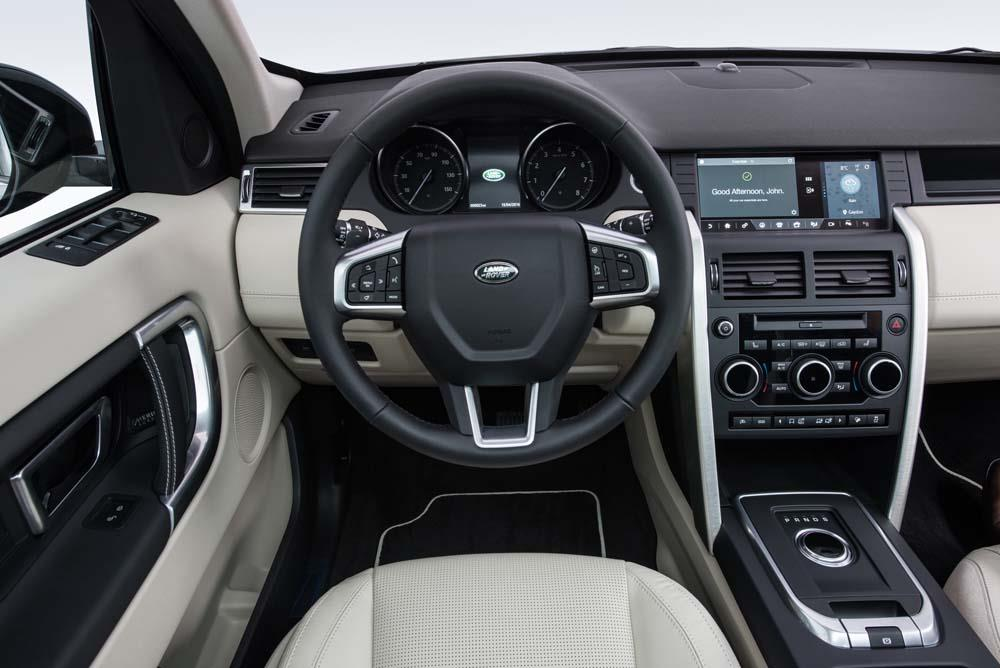 Land Rover Discovery Sports resimleri
