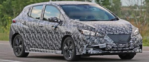 Nissan Leaf Sonbahar Öncesi Görüntülendi