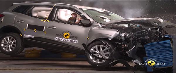 Renault Koleos, Jeep Compass,  ve Opel Grandland X' e Euro Ncap'tan 5'er Yıldız