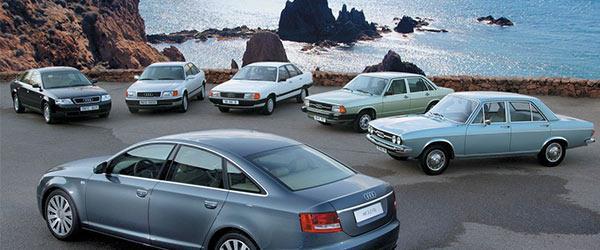 Audi'nin Büyüleyici Tasarımları Tarihin'den Bu Yana Fark Yaratıyor!
