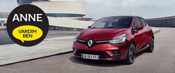 """Renault'un Clio Modelinden Artık """"Anne Vardım Ben"""" Butonu Var !"""