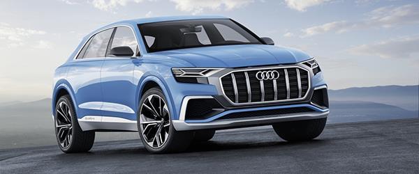 Yeni Audi Q8 tanıtıldı.