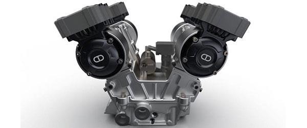Yeni Elektronik Desmo Valfli Motor!