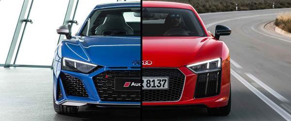 2020 Audi R8 vs 2015 Audi R8 Karşılaştırması