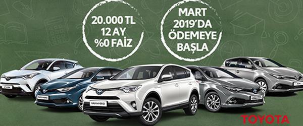 Toyota Yıl Sonu Kampanyası 2018