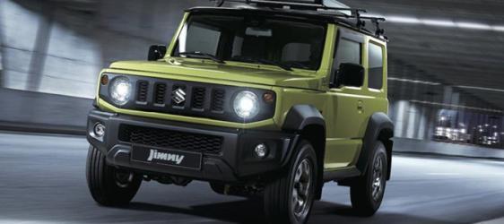 Suzuki'nin Yeni Modeli Jimny Türkiye'de !