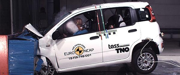 Fiat Panda  EURO NCAP testinde hiç yıldız alamadı!