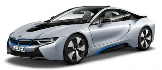 BMW i8 Coupe Silver